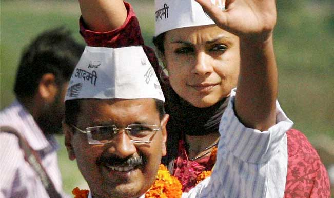 Arvind Kejriwal holds road show in Chandigarh For Gul Panag