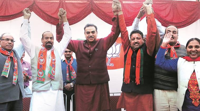 BJP Denials Forms Chandigarh Vikas Morcha