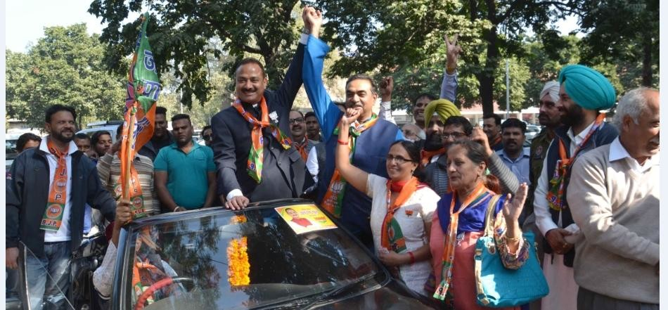 BJP Clean Sweep Chandigarh MC Polls From 21 Seats Out Of 26