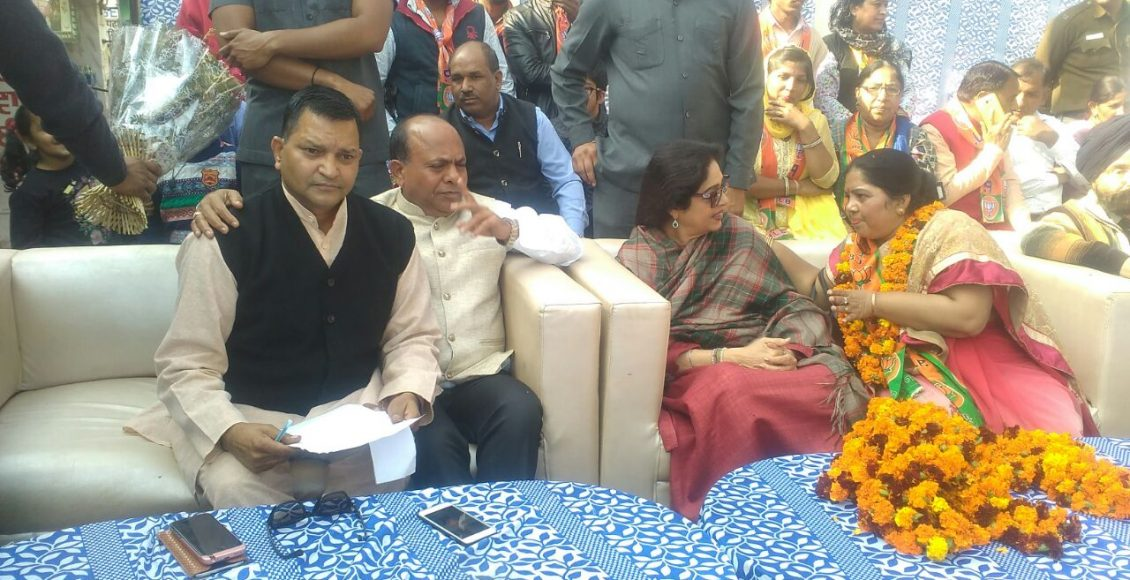 MP Kirron Kher Comes On Sunday To Campaign In Favour Of Smt. Farmila Ward No 6